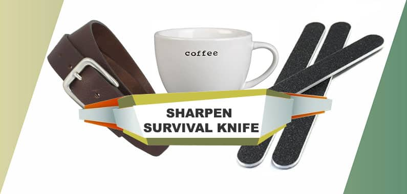 How to Sharpen Survival Knives without a Stone