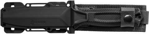 Gerber StrongArm Fixed Blade Survival Knife with Strap