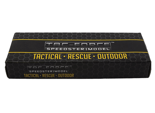 TAC FORCE Spring Assisted EDC Knife Inside Box