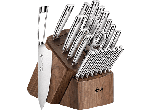 Cangshan N1 Series Forged Kitchen Knife Block Set