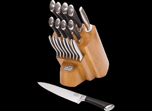 Chicago Cutlery 1119644 18pc Kitchen Knife Set - Best Value