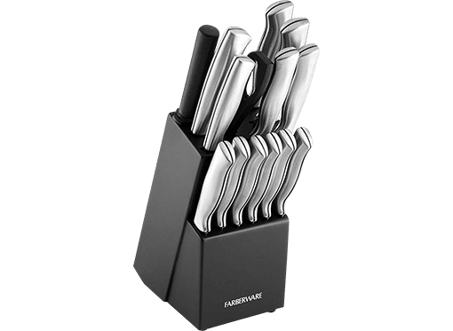 Farberware 5152497 Stainless Steel 15-Piece Stamped High-Carbon