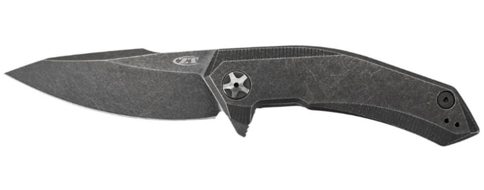 Zero Tolerance 0095BW Titanium Flipper EDC Knife