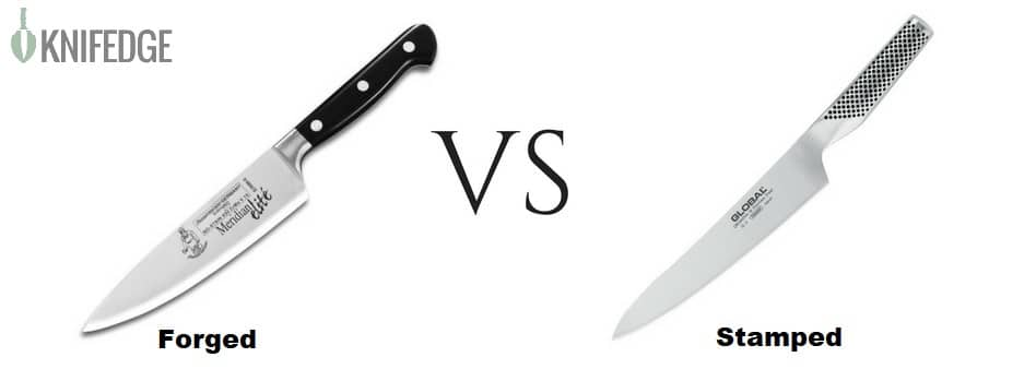 Forged vs Stamped Blade