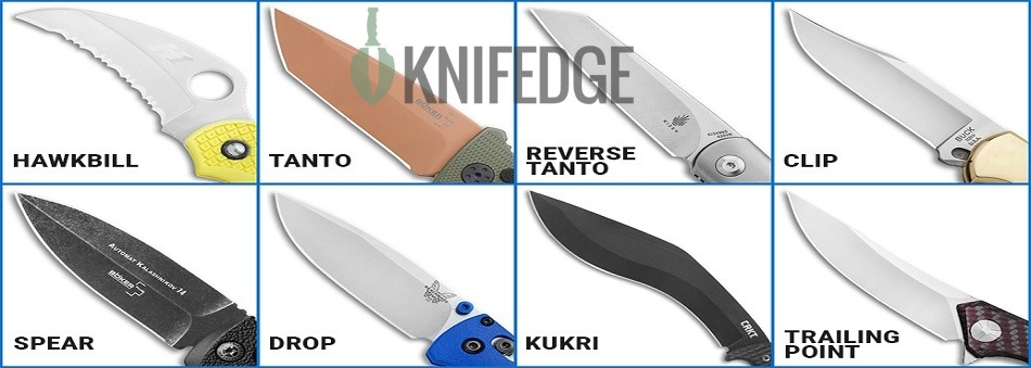 Hunting Knives Blade Type