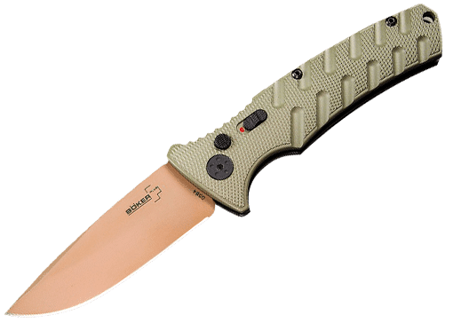 Boker Strike Switchblades Automatic Folding Knives