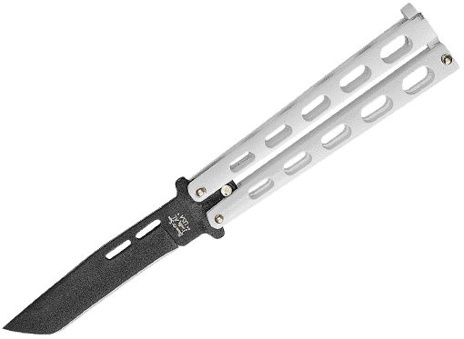 BEAR _ SON LARGE TANTO BUTTERFLY KNIFE