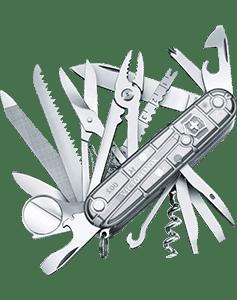 Victorinox Swiss Army SwissChamp Silver